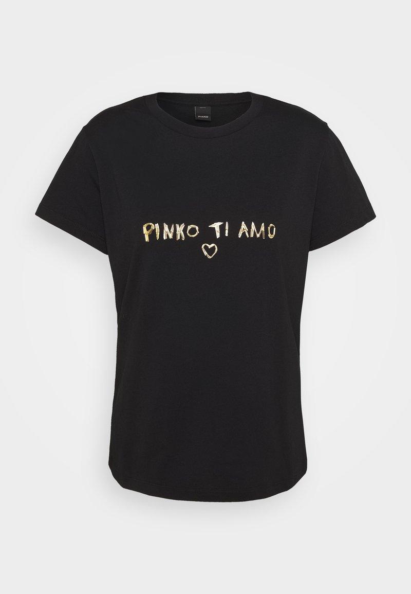 Pinko - ARNOLD  - Triko spotiskem - black