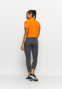 adidas Performance - AEROKNIT 7/8 T TRAINING WORKOUT DESIGNED4TRAINING PRIMEGREEN LEGGINGS FITTED - Tights - solid grey - 2