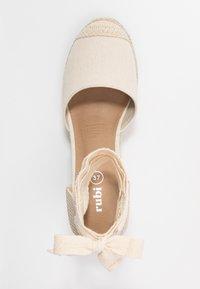 Rubi Shoes by Cotton On - JARDAN TIE UP  - Sandály na vysokém podpatku - stone - 3