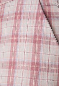 Missguided Petite - GINGHAM BRALET AND WIDE LEG SET - Top - pink - 5
