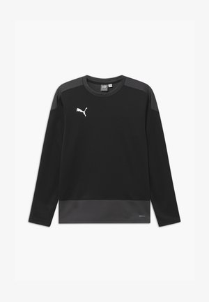 TEAMGOAL  - Sports shirt - puma black/asphalt