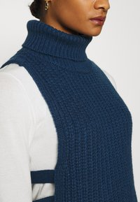 Who What Wear - TURTLENECK DICKIE - Jumper - navy - 5