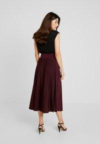 Anna Field Petite - A-line skirt - winetasting - 2