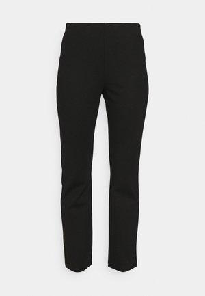 PINA TROUSER - Trousers - black