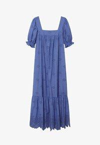 Mango - Vestido largo - blue - 6
