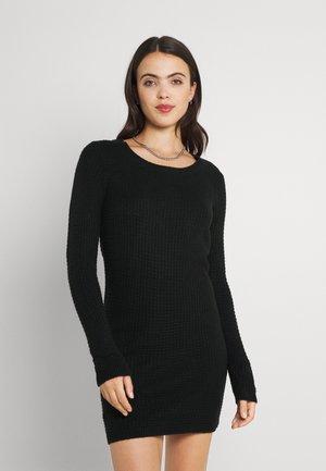 JDYALICE DRESS - Strikket kjole - black