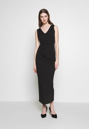 RUCHED LONG DRESS - Suknia balowa - black