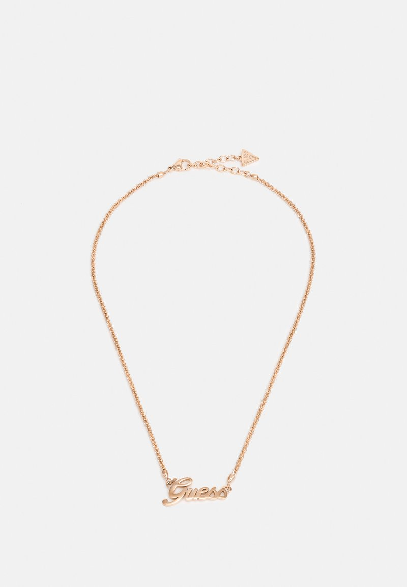 Guess - LOGO POWER - Necklace - rosegold-coloured