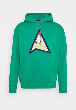 MOUNTAINSIDE - Hoodie - neptune green
