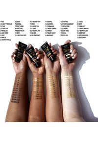 Nyx Professional Makeup - BORN TO GLOW NATURALLY RADIANT FOUNDATION - Foundation - 02 alabaster - 3
