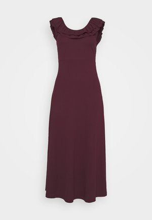 ONLFIESTA DRESS - Jersey dress - fig