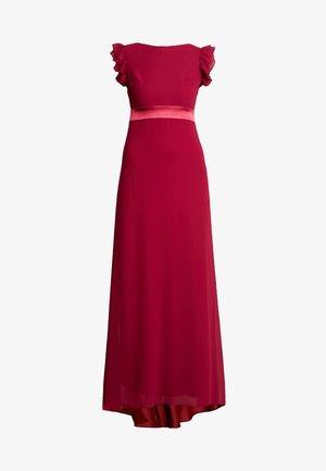 JUSTINA MAXI - Occasion wear - burgundy