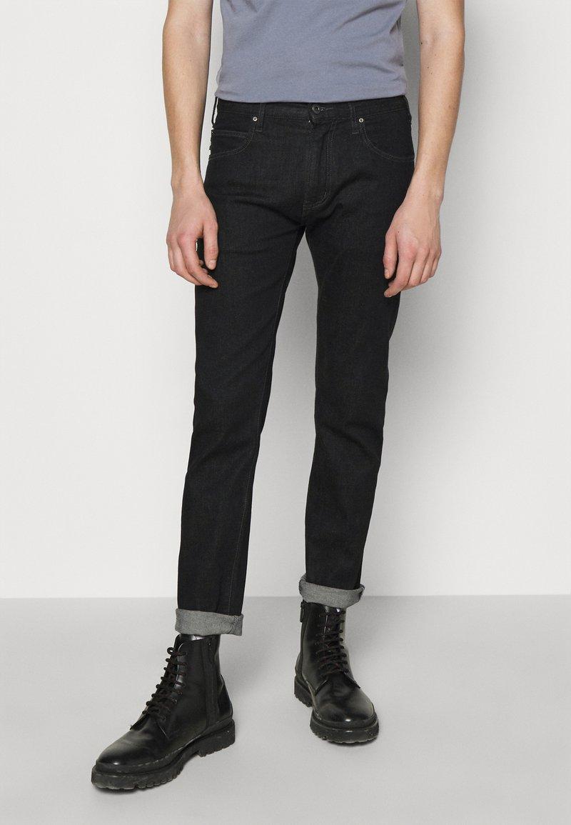 Emporio Armani - PANT - Džíny Straight Fit - black