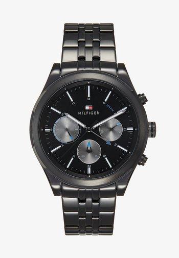 ASHTON - Chronograph watch - black