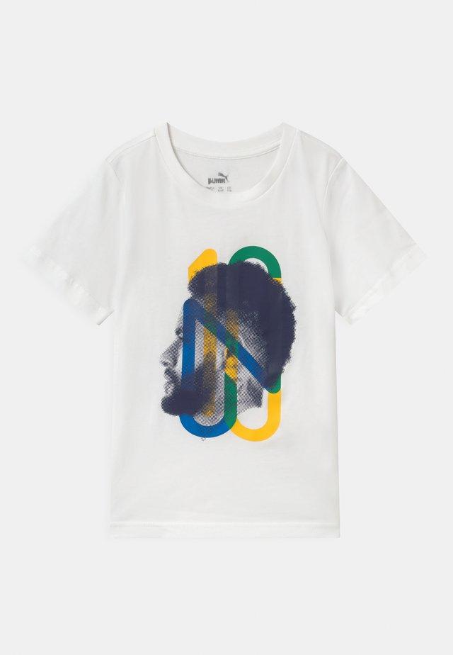 NEYMAR JR HERO UNISEX - Printtipaita - white
