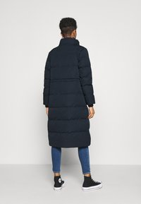 Superdry - LONGLINE FAUX FUR EVEREST COAT - Winter coat - eclipse navy - 3