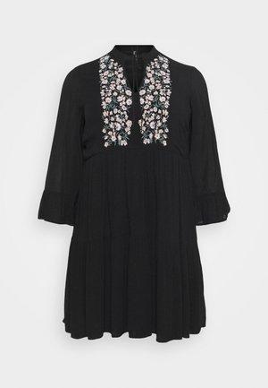 PCLEIA DRESS - Korte jurk - black