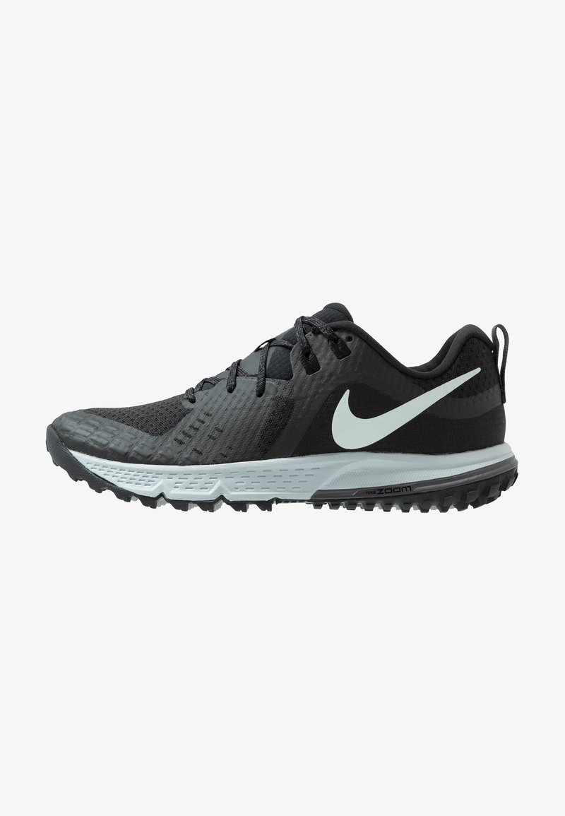 Nike Performance - AIR ZOOM WILDHORSE 5 - Zapatillas de trail running - black/barely grey/thunder grey/wolf grey