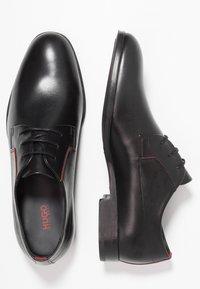 HUGO - BOHEME - Stringate eleganti - black - 1