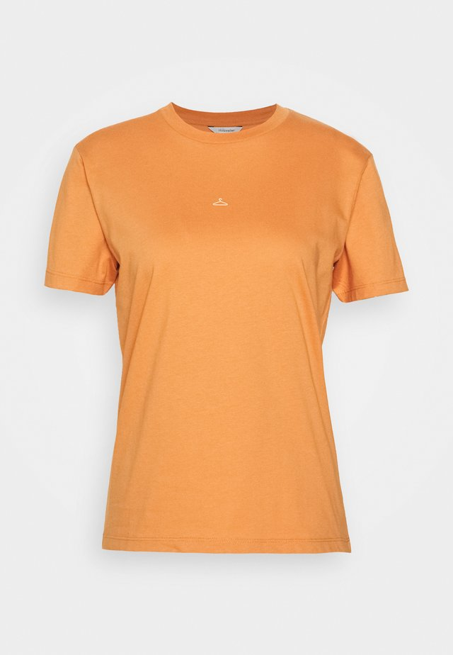 SUZANA TEE - T-shirt imprimé - orange