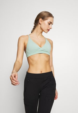 CROSS BETA BRA - Sports-BH-er med lett støtte - gypsum green