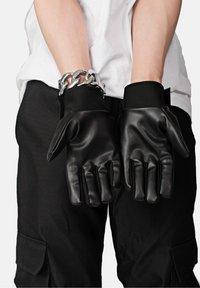 SEXFORSAINTS - Gloves - metallic black - 1