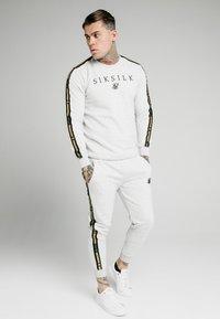 SIKSILK - PRESTIGE CREW - Sweatshirts - grey marl - 1