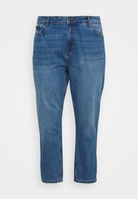 Noisy May Curve - NMISABEL MOM - Relaxed fit jeans - medium blue denim - 5