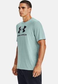 Under Armour - Print T-shirt - enamel blue - 0