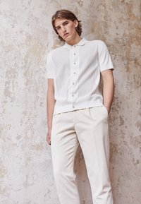 Boglioli - Pantalon classique - off-white - 3
