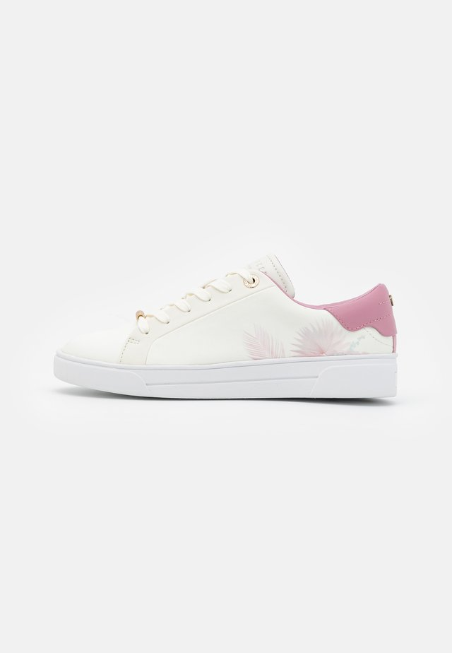 DELYLAS - Baskets basses - white