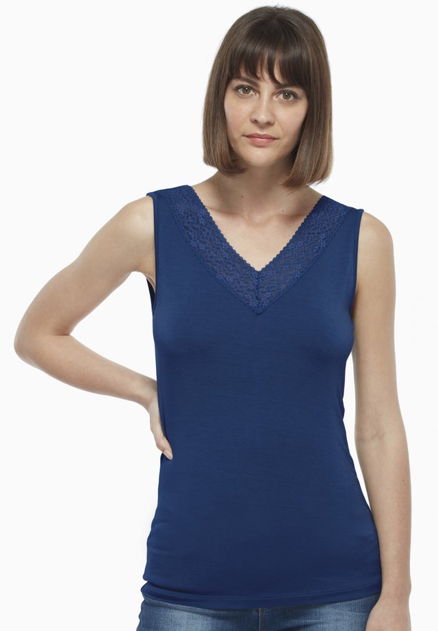 LOVABLE MAGLIERIA VISCOSA WOMAN - Top - blue