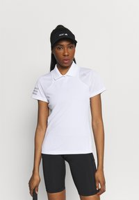 adidas Performance - CLUB TENNIS AEROREADY - T-shirt sportiva - white/grey two - 0