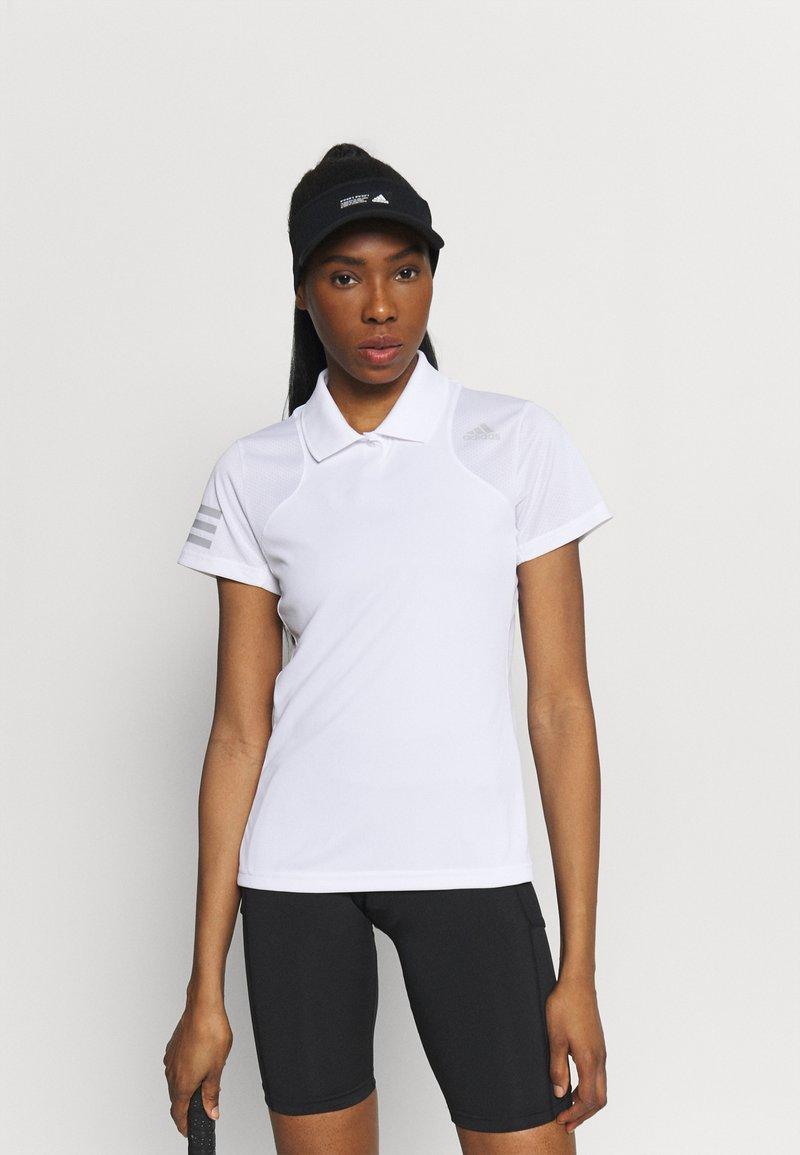 adidas Performance - CLUB TENNIS AEROREADY - T-shirt sportiva - white/grey two