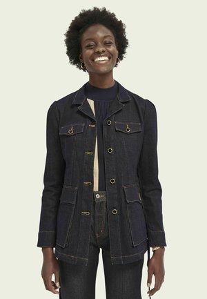 MILITARY - Denim jacket - indigo