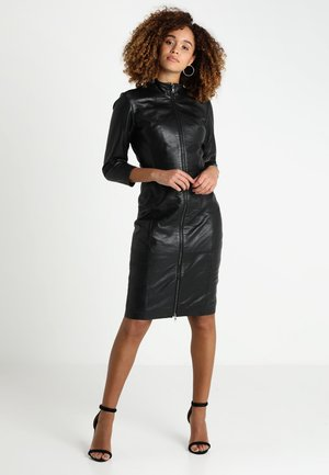 FIRE - Shift dress - black