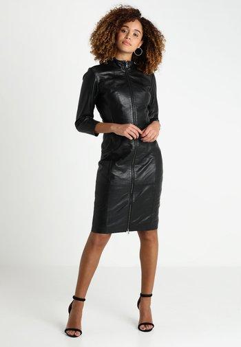 FIRE - Shift dress - black