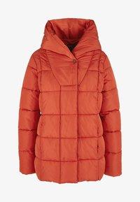 Triangle - MIT SCHALKRAGEN - Winter jacket - orange - 4