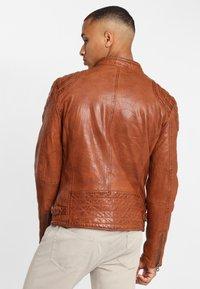 Gipsy - ARNY STUV - Leather jacket - cognac - 2
