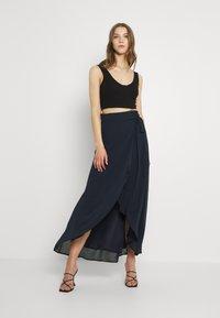 TFNC - DILLY SKIRT - Maxi skirt - navy - 1