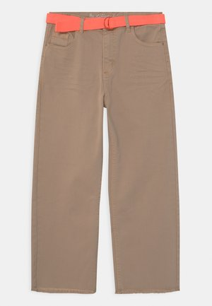 CULOTTE TEENAGER - Džíny Straight Fit - beige