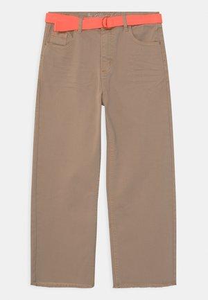 CULOTTE TEENAGER - Straight leg jeans - beige