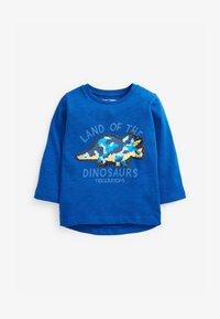 Next - DINO FLIPPY SEQUIN - Longsleeve - blue - 0