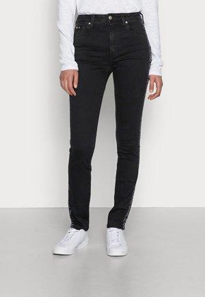 HIGH RISE SKINNY - Jeans Skinny Fit - denim dark