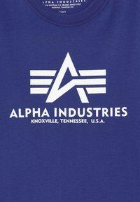 Alpha Industries - BASIC - Print T-shirt - nautical blue - 3