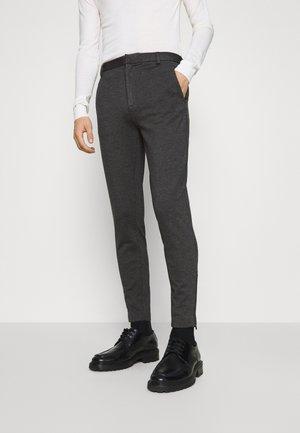 POLITAN ZIP PANTS - Trousers - antracite