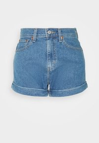 Levi's® - MOM LINE  - Denim shorts - light blue denim - 3