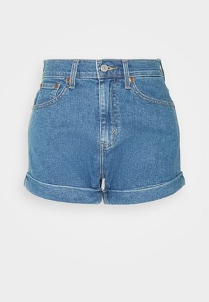 MOM LINE  - Shorts di jeans - light blue denim
