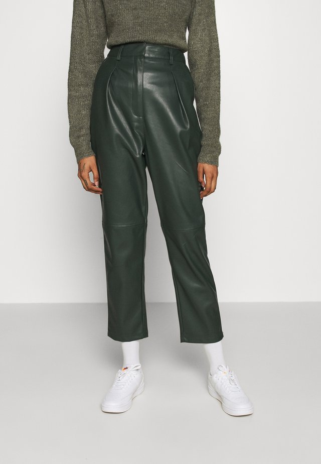MARJELLA TROUSERS - Trousers - grün