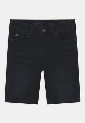 STRUMMER  - Denim shorts - dark-blue denim